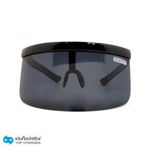 แว่นกันแดดหน้ากาก Playboy กรอบดำวาว-เลนส์ดำ (กรุ๊ป CA20)