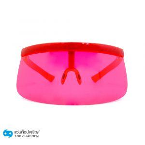 แว่นกันแดดหน้ากาก Playboy กรอบแดง-เลนส์ชมพู (กรุ๊ป CA20)