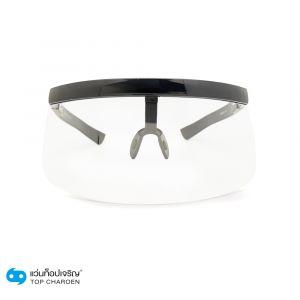 แว่นกันแดดหน้ากาก PLAYBOY (เพลย์บอย) กรอบดำ เลนส์ใส