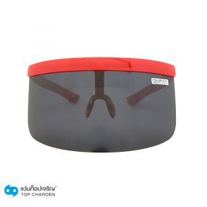 แว่นกันเเดดหน้ากาก PLAYBOY (เพลย์บอย) กรอบแดง เลนส์ดำ